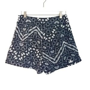 SANCTUARY Aztec Animal Print High Rise Shorts S